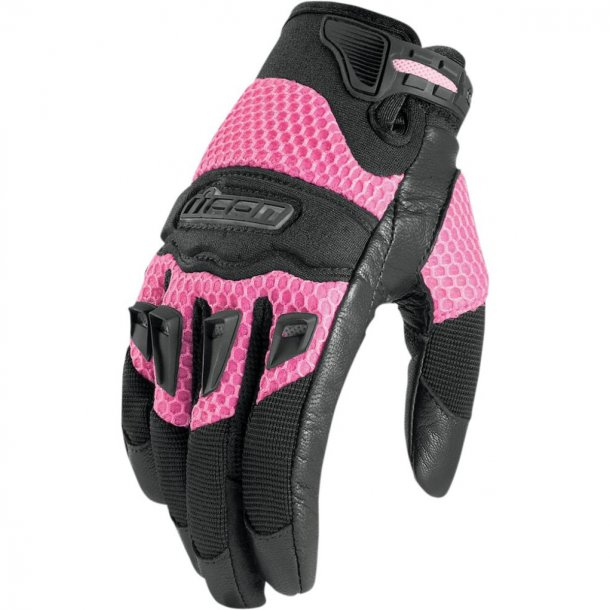 ICON twenty-niner Womens MC Glove - MC dame handske - sort eller pink