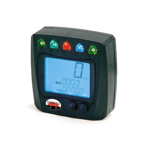 ATV Digital Speedometer km/t eller mph