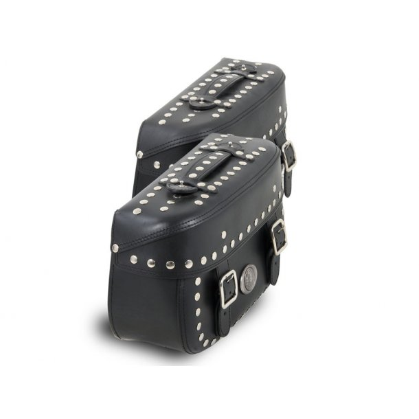 Scarlett sidetaskesæt, Yamaha XV535, 88-98, inkl. sidetaskeholdere