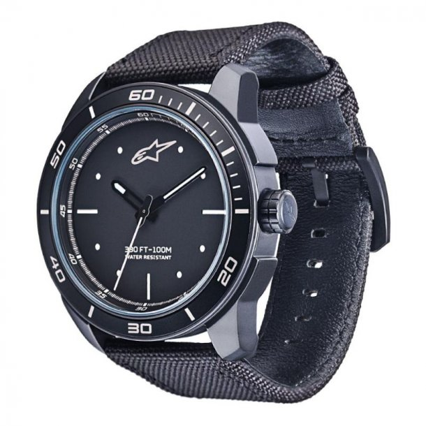 Alpinestars Matte Black Watch, armbåndsur