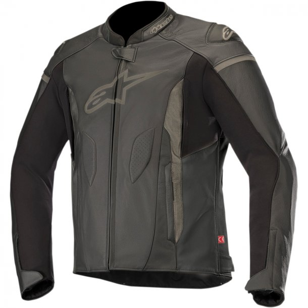 Alpinestars Faster Leather Jacket, mc læderjakke