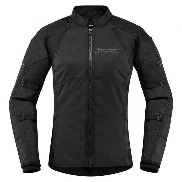 Icon Automag2, MC Dame jakke, med beskyttelse