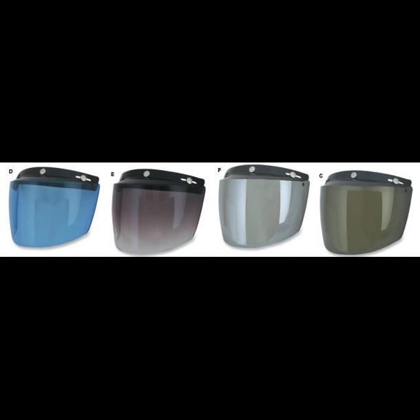 AFX Flip, Visir, universal 3-knap, flere farver