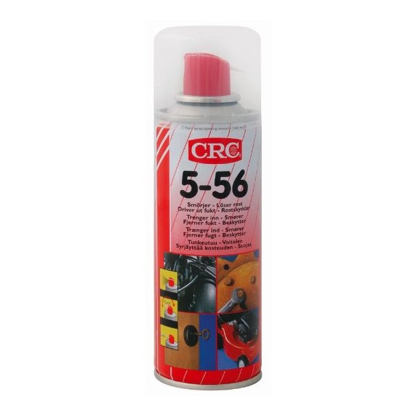 CRC 5-56, Universalspray, rustløsner, smører,fortrænger vand