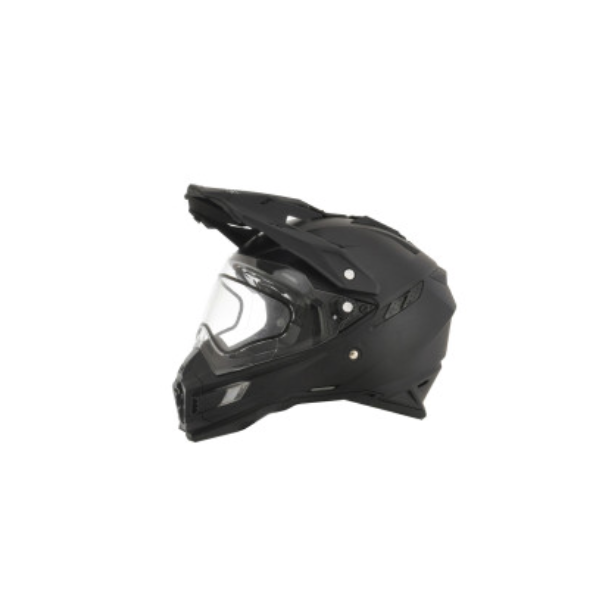AFX FX-41DS, SNOW, MC hjelm, Matsort, OffRoad, ATV, UTV hjelm, E-mærket