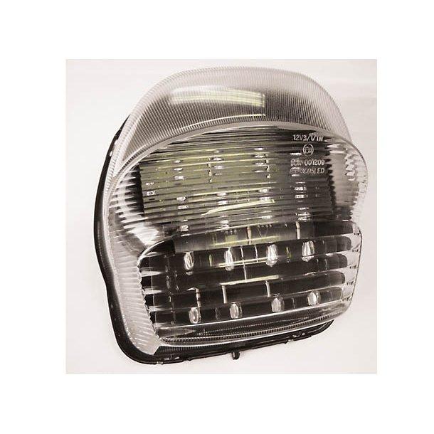 HONDA LED baglygte klart glas