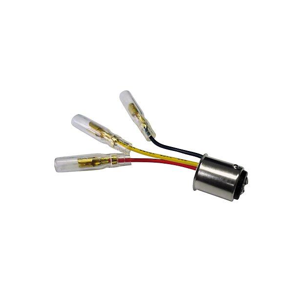 Baglygte adapterkabel til pæresokkel BAY15D