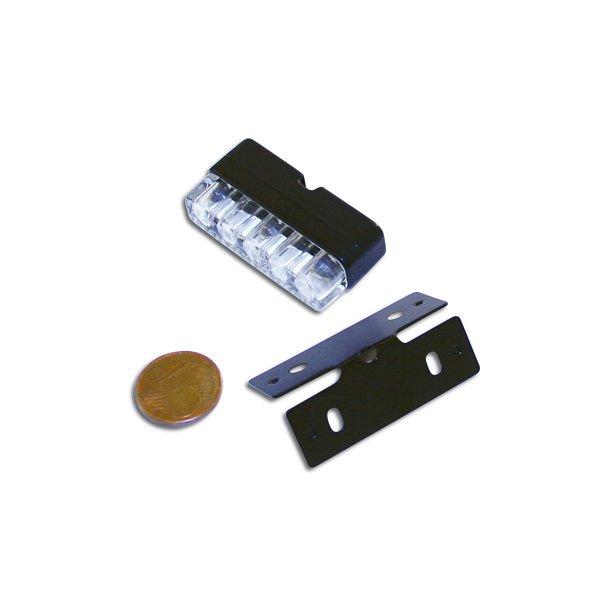 MINI LED nummerpladelys med holder