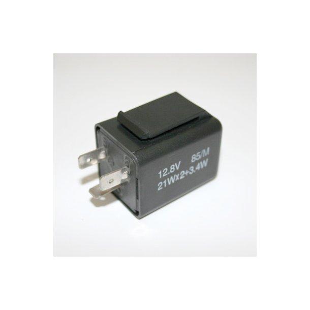 Blinkrelæ elektronisk 3-pin universal