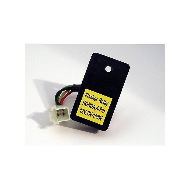 Blinkrelæ elektronisk 4-pin universal - Honda