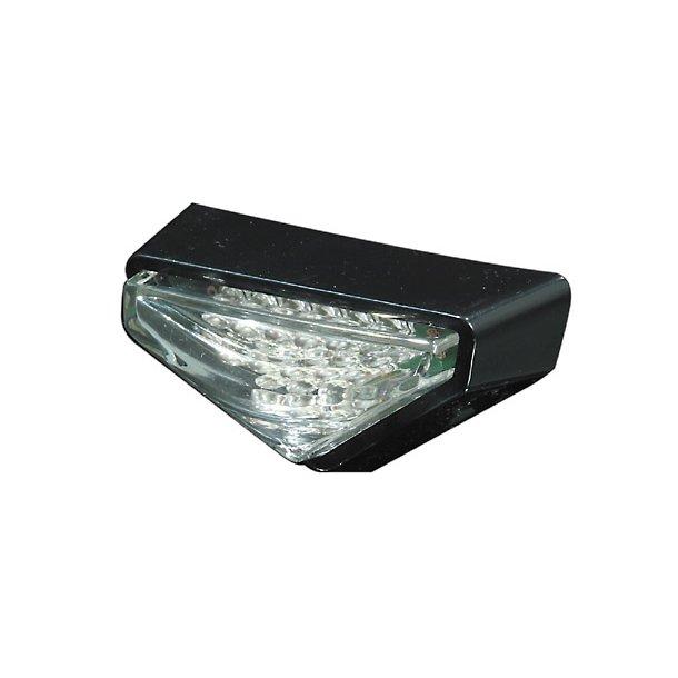 MODENA mini LED baglygte, klart glas