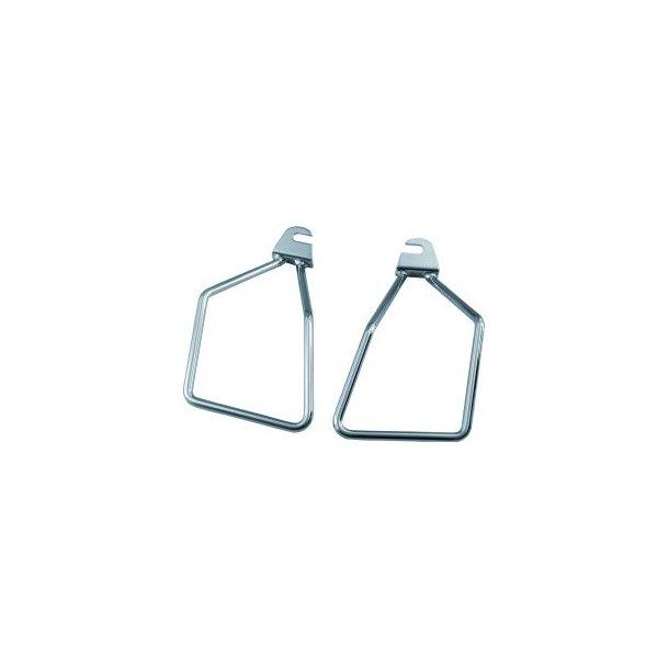 Easy onoff saddlebag support, enkle MC sadeltaske bøjler, universal