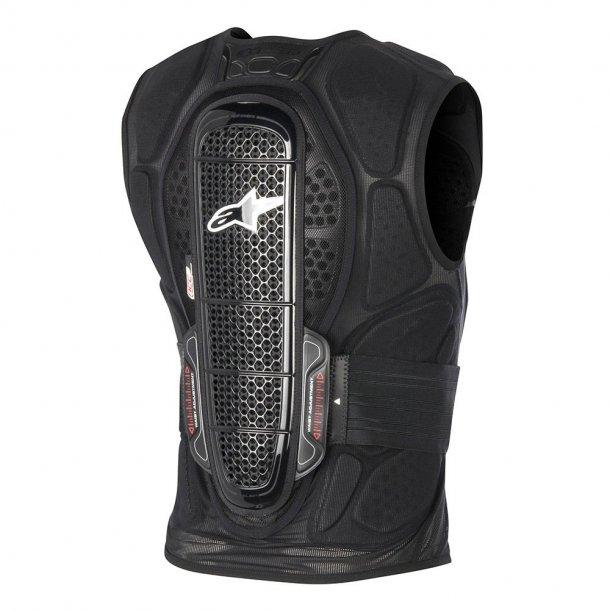 Alpinestars Track Vest 2, ryg/bryst beskyttelse, nyrebælte